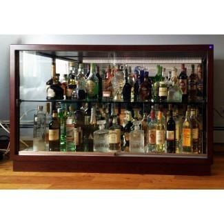 Puerta de vidrio del gabinete de licor de bloqueo - Muebles nuevos