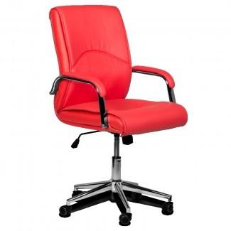 Silla de oficina Carmen 6060 - rojo, precio 100.62 EUR
