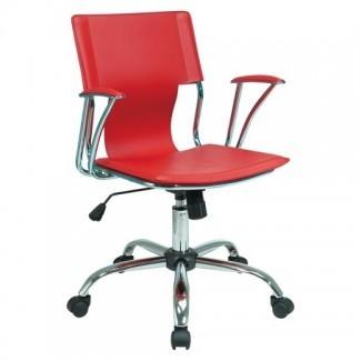 Silla de oficina Dorado roja - Estrella de la oficina: Target