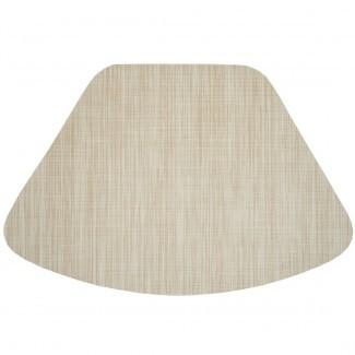 Increíbles manteles de vinilo para mesas redondas Cream Tan Wipe ...