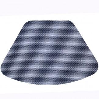 Manteles individuales con cuña: toallita blanca azul marino Limpiar con forma de cuña redonda ... [19659010] Manteles individuales de cuña: Blanco redondo con forma de cuña limpia y limpia en color azul marino ... </div> </p></div> <div class=