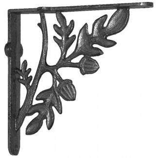 Soporte de repisa de rama y hojas (juego de 2)