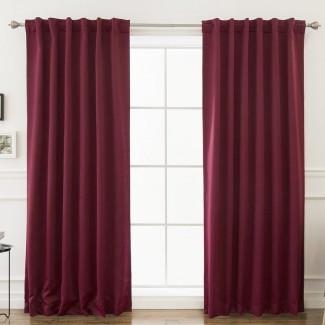 Paneles para cortinas térmicas sólidas Sweetwater Blackout (juego de 2)