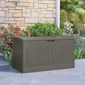 Baywood® Stoney Caja de cubierta de resina de 80 galones