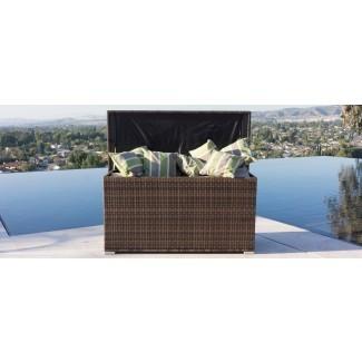 Caja de cubierta de mimbre para todo clima Crosson