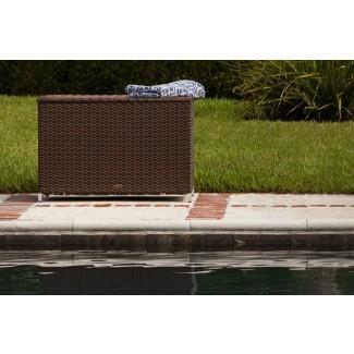 Caja de cubierta de mimbre Hayden de 58 galones