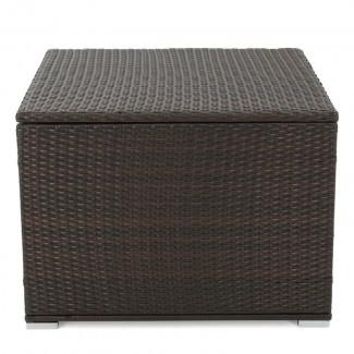 Caja de cubierta de mimbre Benbow de 70 galones