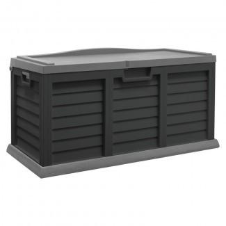 Caja de cubierta plástica de 103 galones
