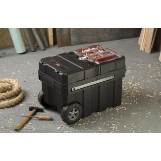 Nueva solución de almacenamiento de la caja de herramientas del organizador rodante portátil de plástico Masterloader
