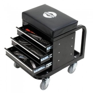 Enredadera de caja de herramientas negra Omega 92450
