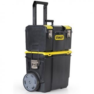 Compre la caja de herramientas con ruedas de plástico con cierre de 11,5 pulgadas de Stanley ...