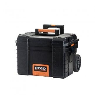 Caja de herramientas RIDGID 22 in. Pro Gear Cart en negro -222573