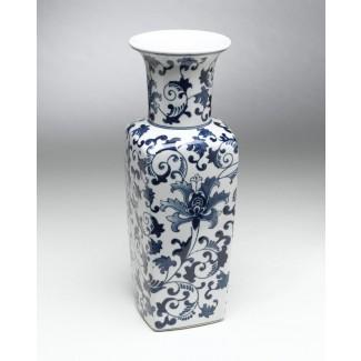 Jarrón de mesa de porcelana Chevelle