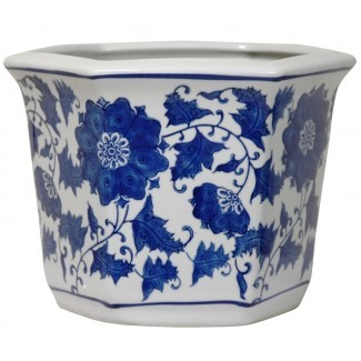 Jardinera de porcelana china