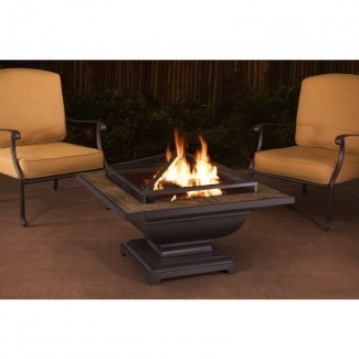 Trent Steel Wood Fire Fire Fire Table