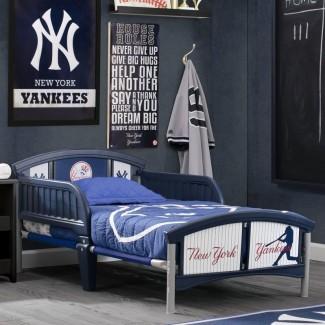 Cama convertible MLB New York Yankees para niños pequeños