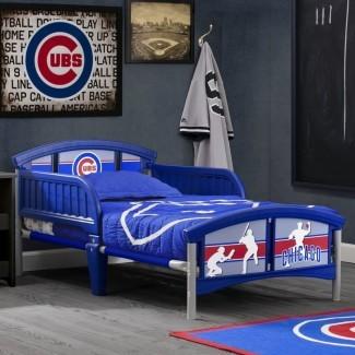 Cama convertible MLB Chicago Cubs para niños pequeños