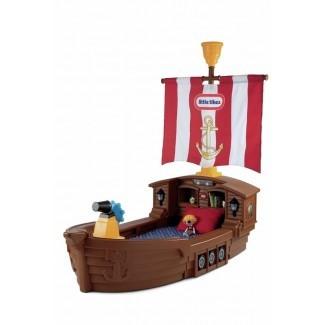 Cama infantil para barco pirata