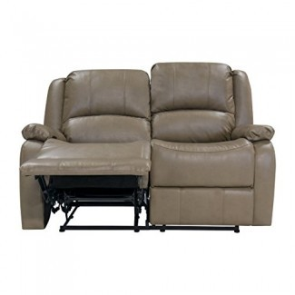 """RecPro Charles 58 """"reclinable Hugger de pared cero RV doble"""" ..."""
