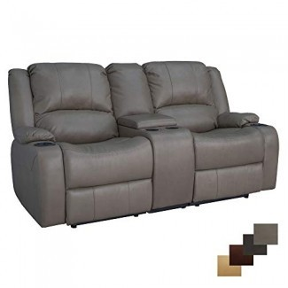 """Sofá reclinable reclinable de pared reclinable doble reclinable Charles 70 """"reclinable Charles 