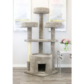 """65 """"Main Coon House Cat Condo"""