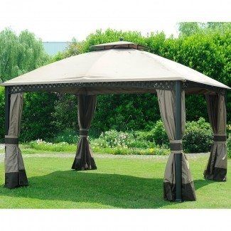 Cortina Windsor Gazebo pared lateral