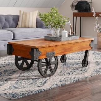 Mesa de centro Hardrigg Cart