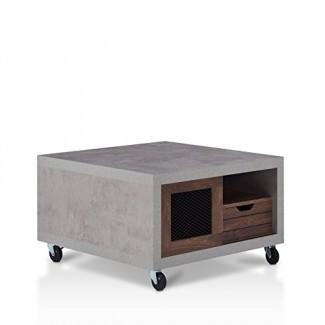 VIVIENDAS: Inside + Out FGI-1794C21 Aaliyah Coffee Table Walnut