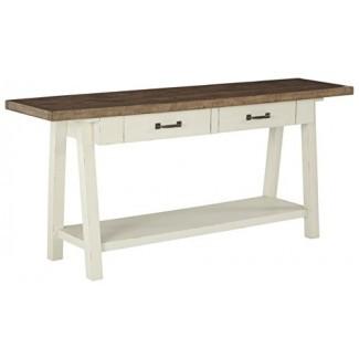 Ashley Furniture Signature Design - Stowbranner Mesa de cóctel rectangular casual