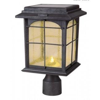 Cabeza de linterna LED de 1 luz solar Heflin