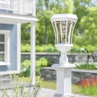 Almonte Victorian Bulb Solar 1-Light Lantern Head