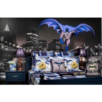 Ideas de decoración de ropa de cama y dormitorio de Batman para su pequeño ...