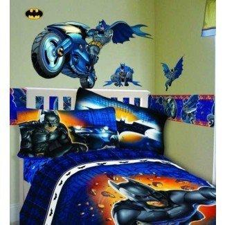 Excelente decoración de dormitorio de Batman ~ dormitorio