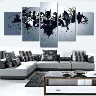 Artículos con la etiqueta de decoración de la sala de estar de Batman Impresionante ...