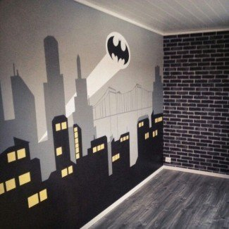 Más de 25 mejores ideas de dormitorio de Batman en Pinterest