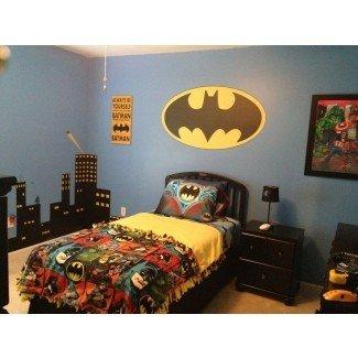 Ideas de decoración de dormitorio y ropa de cama de Batman para su pequeño ...