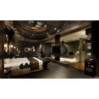 ideas de decoración de dormitorio de Batman