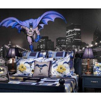 Decoración de la habitación de Batman en ideas tradicionales de decoración del hogar ...