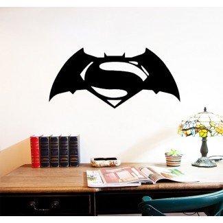 Batman superman Wall Decals decoración del hogar decoración de la habitación ...