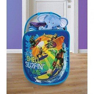 Playhut Pop N Play Tote de lavandería - Teenage Mutant Ninja Turtles