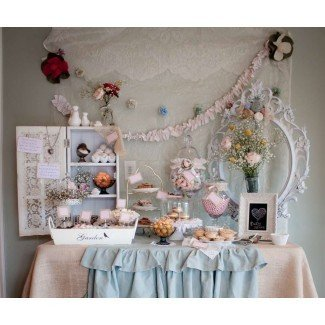Anthropologie y Shabby Chic Style Baby Shower Party ...
