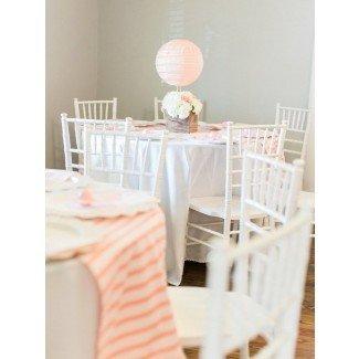 Ideas para la fiesta de Kara Shabby Chic Baby Shower con globo de aire caliente