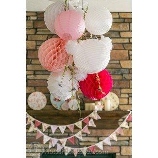 Shabby Chic Baby Shower, menú de fiesta e ideas para el registro de bebés