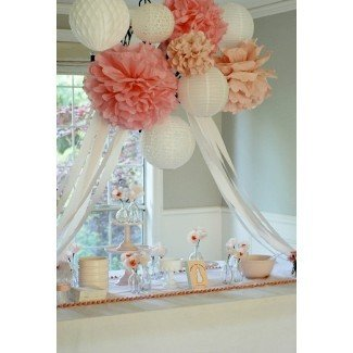 Delightful Endeavors: Baby Shower victoriano / Shabby Chic