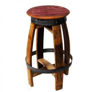 Mesa de barril de vino con taburetes de bar. Bella Barrel Contact ...