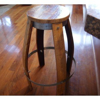 Taburetes de bar de barril de vino de calidad | Muebles personalizados