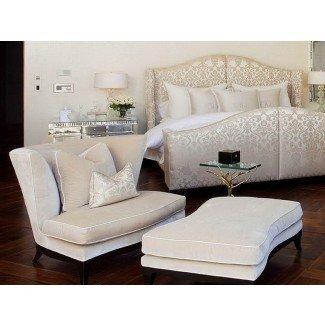 Sillas de lectura cómodas para diseños de hogar modernos de dormitorio ...