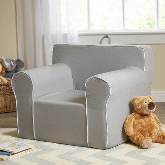 Silla My Comfy personalizada en gris claro
