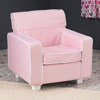 Silla KidKraft Pink Laguna con funda antideslizante - 18601