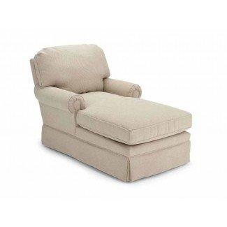 Dos sillas de salón con sillón chaise armado también son las mejores